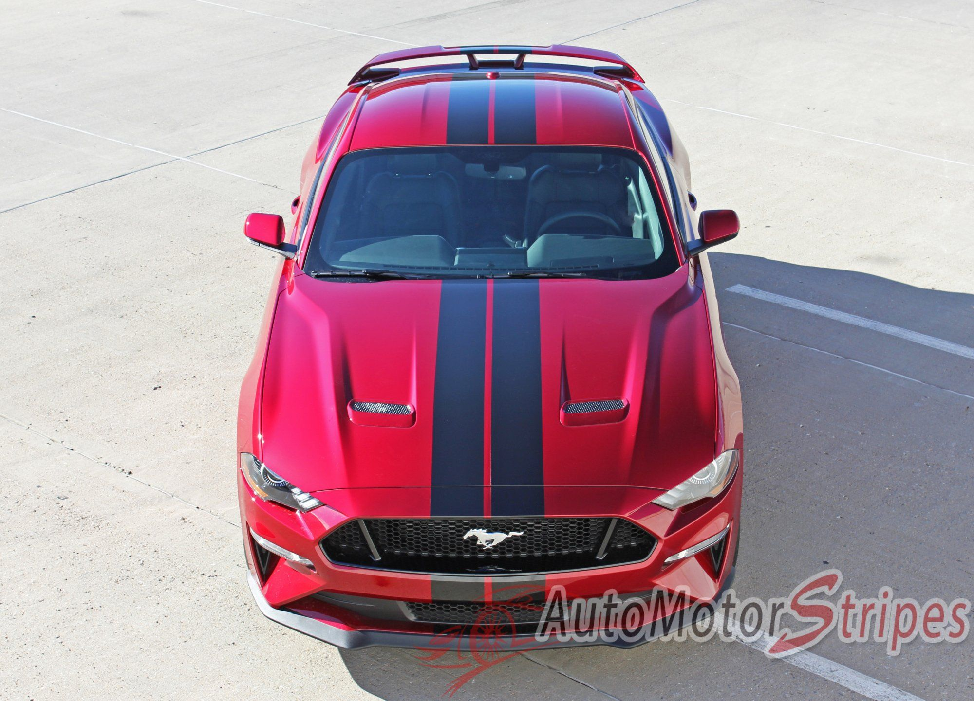 """2018 2019 Ford Mustang Racing Stripes Stage Rally Stripes 7"""" Inch"""