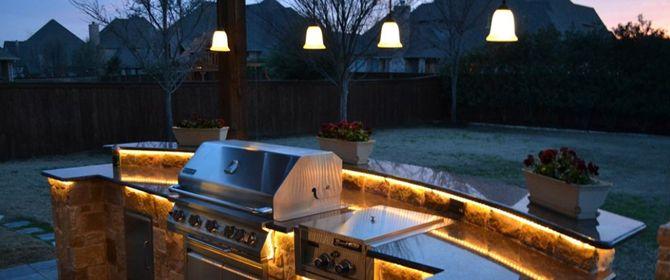 Outdoor Kitchen Lights – Outdoor Kitchen Lighting