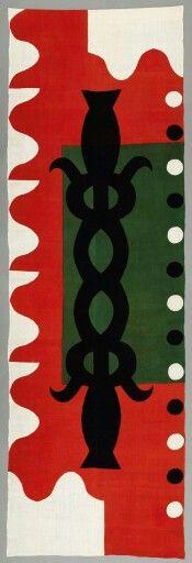 Striking textile by Samiro Junoki