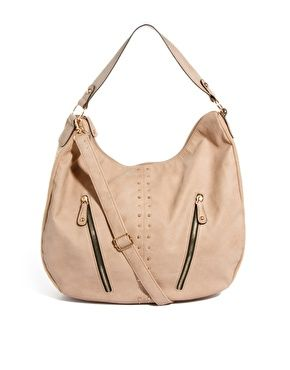 New Look Harry Stud Hobo Bag $33.92 NOW $19.52