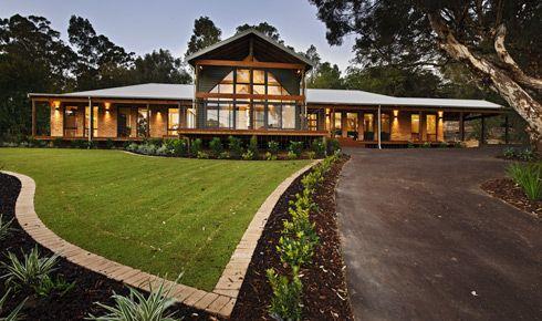 Rural Building Display Homes: The Argyle. Visit www.localbuilders ...
