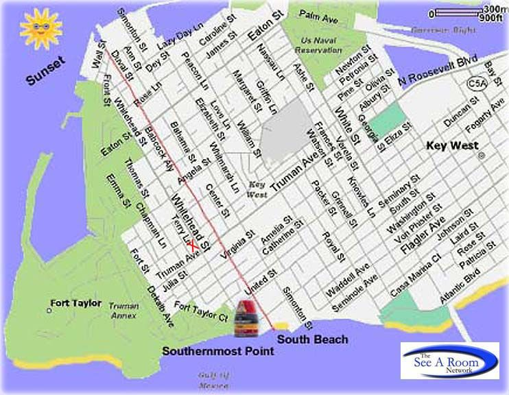 Lighthouse Court Key West Map Key West Wedding Pinterest