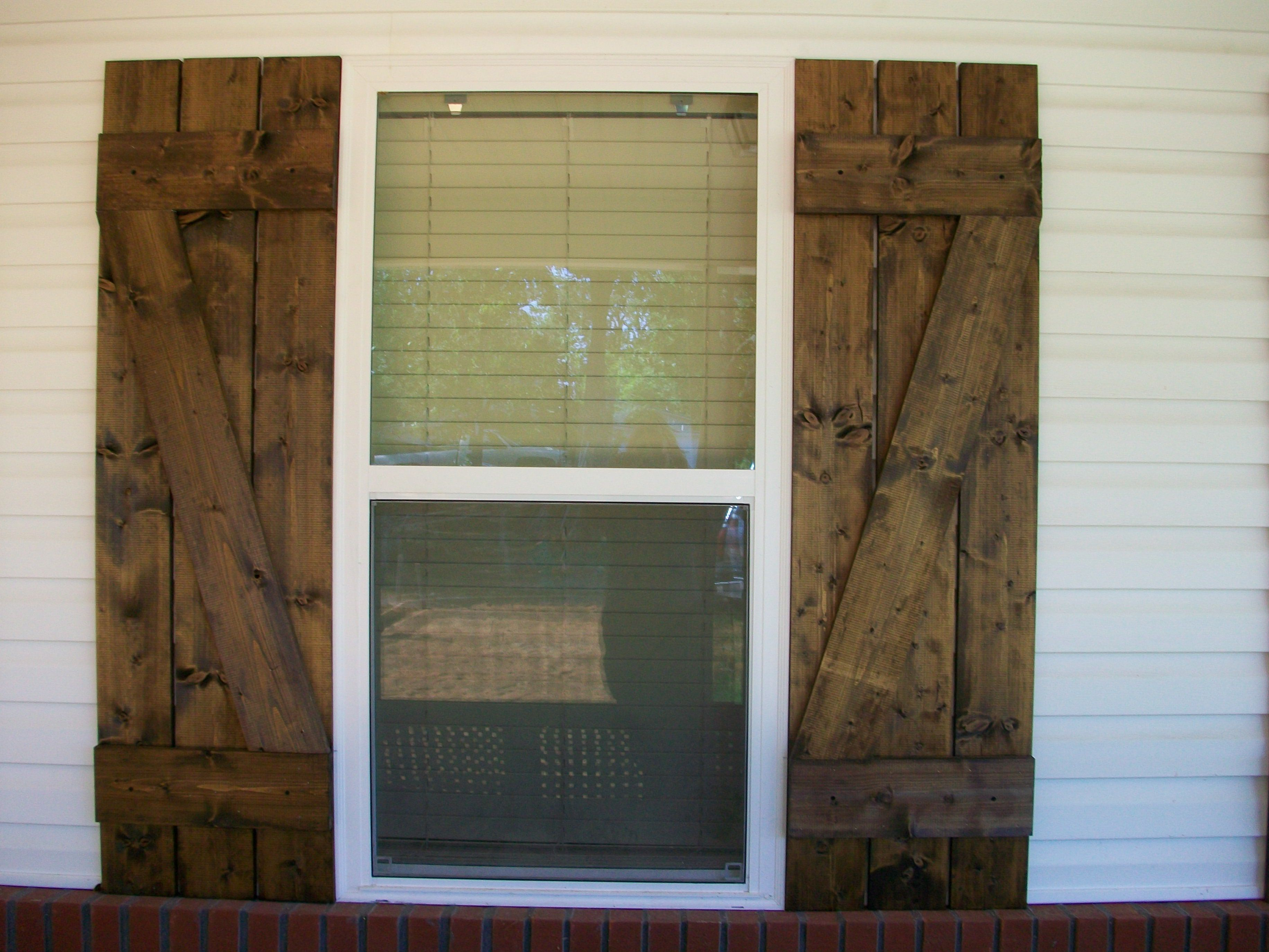 Pine shutters for the home pinterest pine and house