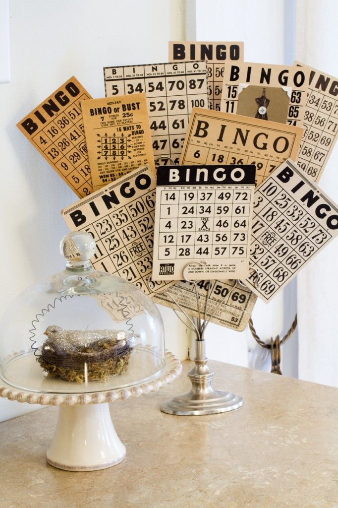 How To Decorate With Collections With Images Bingo Cards
