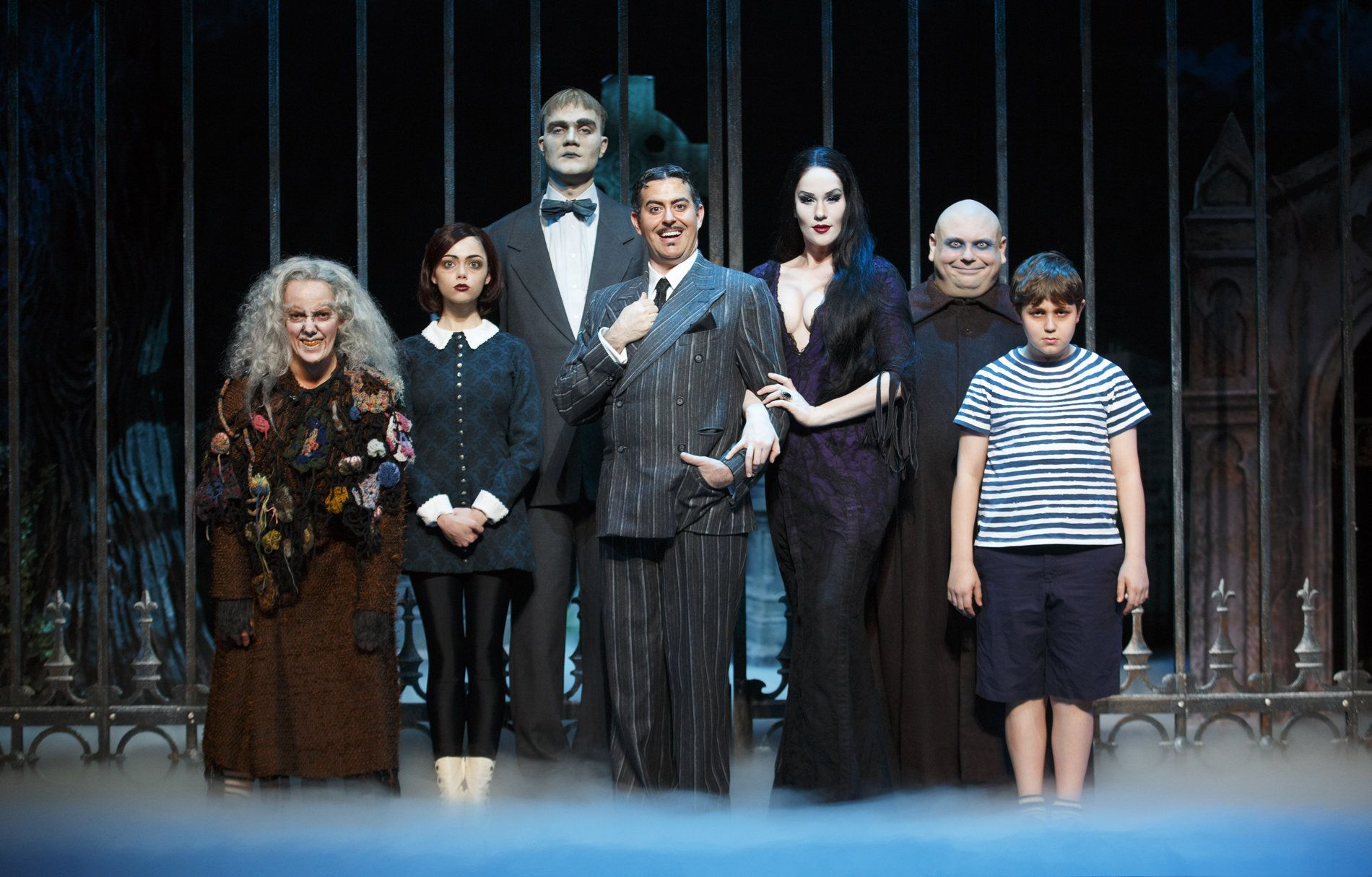 Uncle fester the addams family pinterest - Set From The Addams Family Musical Download The Addams Family On Stage Hd