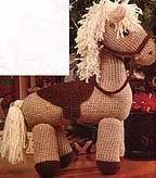 Free crochet pony pattern #crochetpony Free crochet pony pattern. - #Crochet #FREE #Pattern #PONY #crochetpony