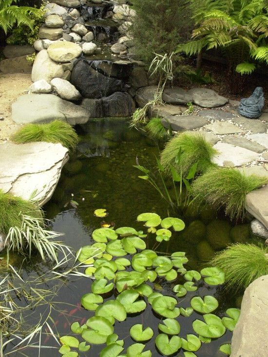 Asian Landscape Garden Tub Design, Pictures, Remodel, Decor and