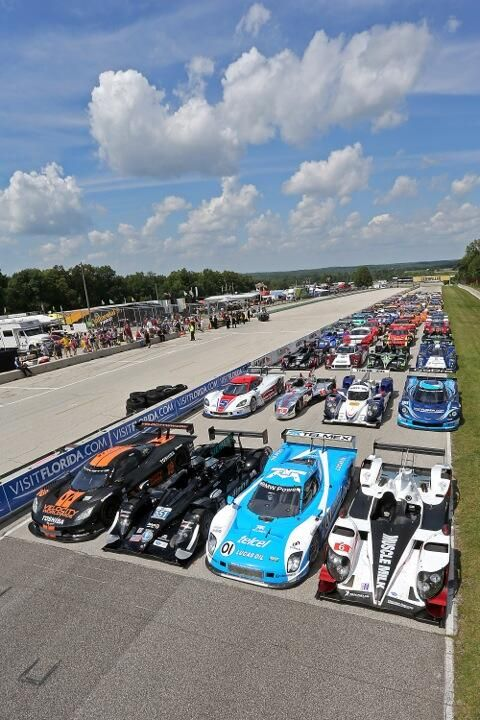 The new IMSA, United Sports Car Racing.