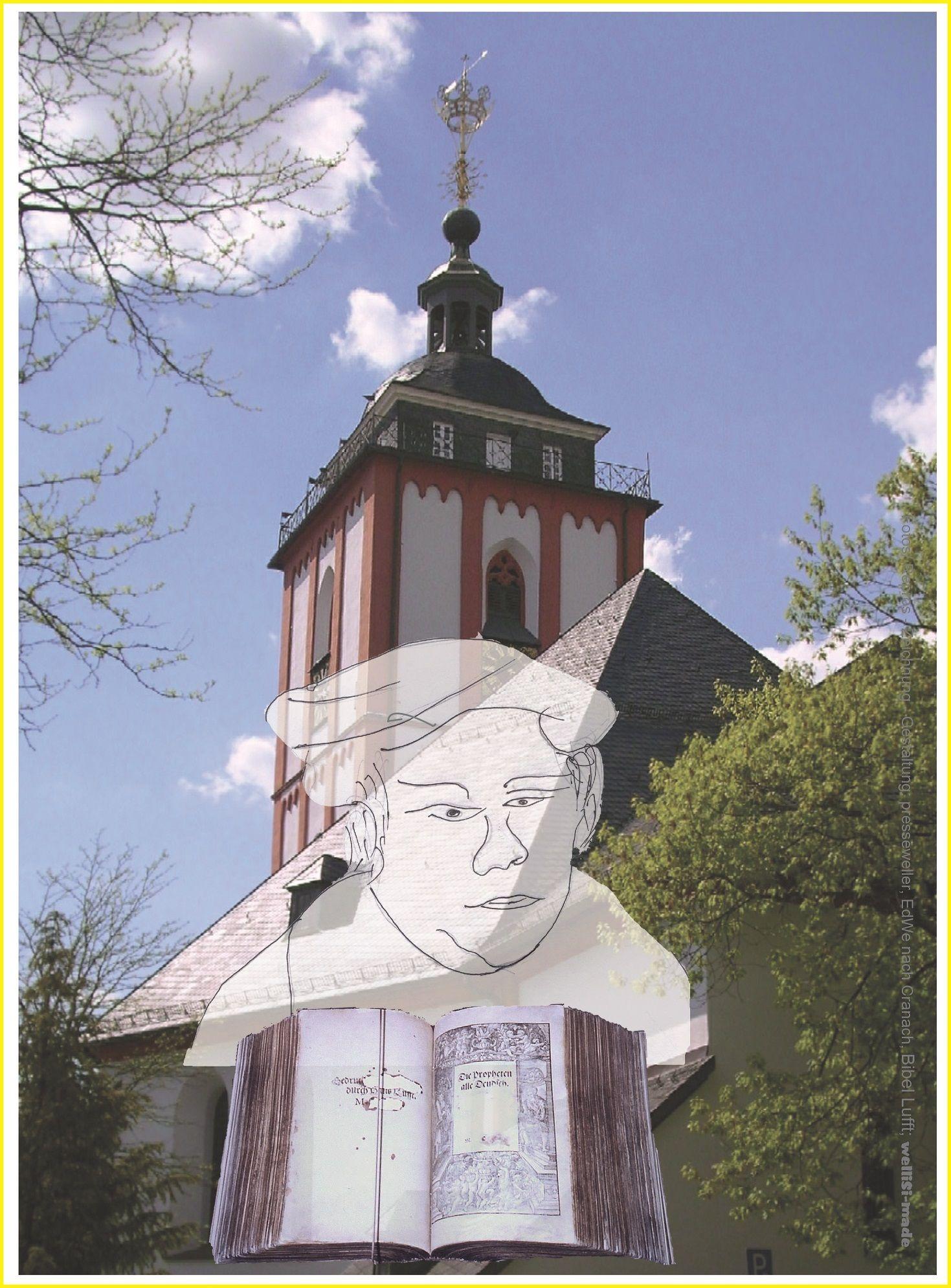 Reformation, 500-jähriges Jubiläum am 31. Oktober 2017. Martin Luthers Reformation wirkte sich auch im Siegerland aus. Großer Bericht mit Fotos dazu auf www.buch-juwel.de abrufbar.