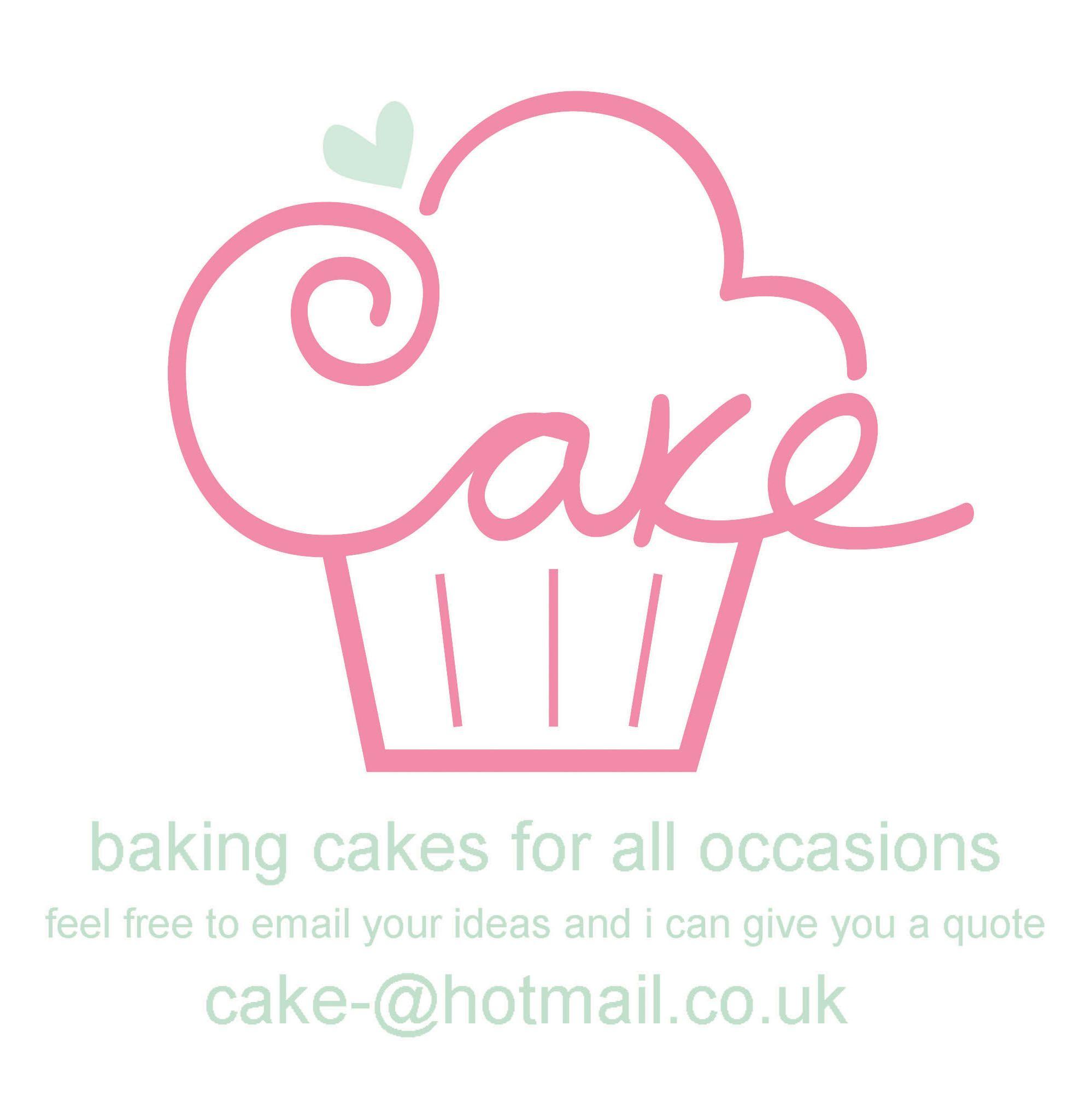 new cake logo from the beginning Cake logo design