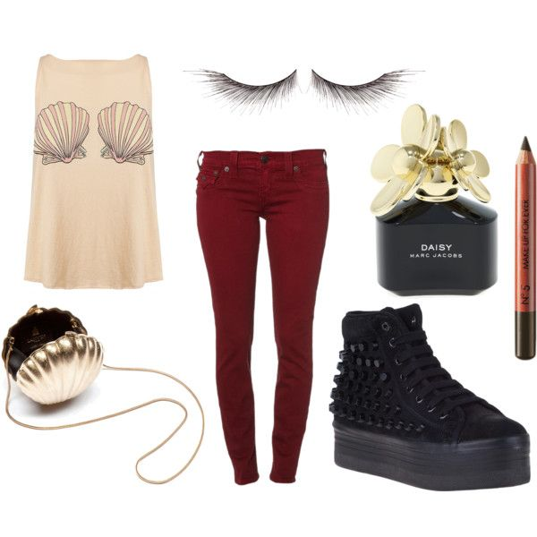 #tumblr #outfit #polyvore #grunge