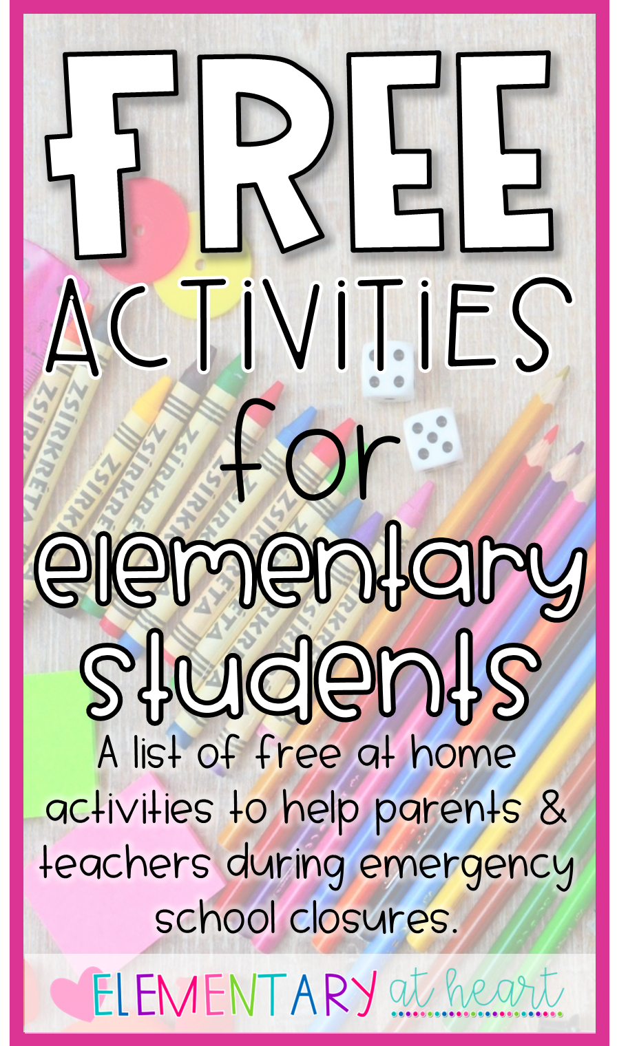 Photo of FREE Activities for Elementary Students