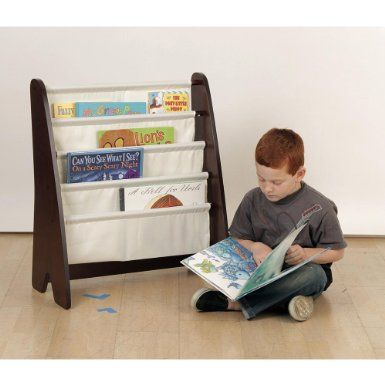 Amazon Com Book Sling Library Espresso This Matches Our Other Nursery Furniture And I Prefer It To A Regular Bookshelf Beca Book Sling Storage Storage Bins