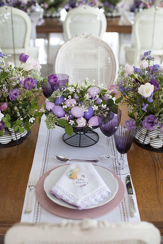 E' arrivata la Pasqua: 30 Idee per la tua tavola da ...