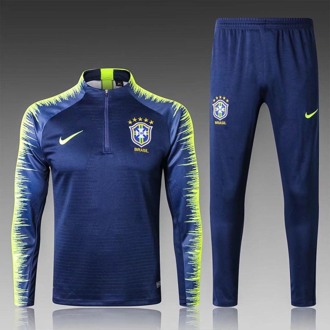 Brasil Azul Oscuro Nike Clothes Mens Football Outfits Mens Activewear