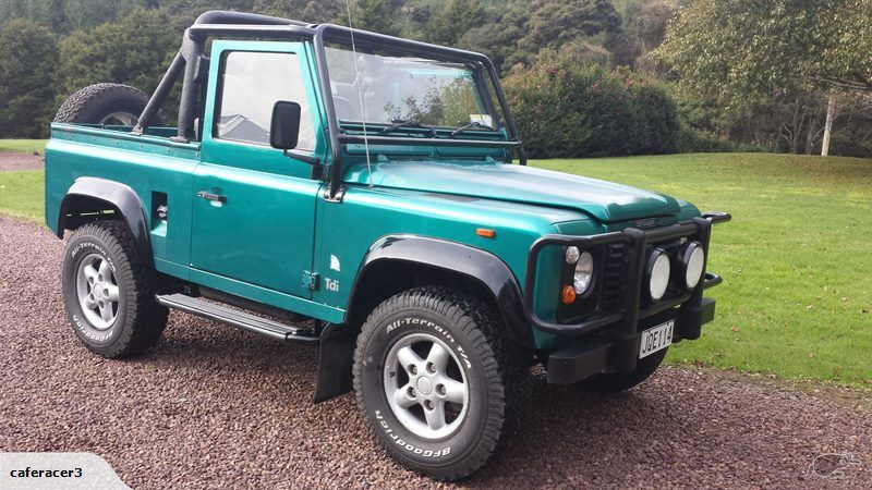 Land Rover Defender 90Sv 1994 Trade Me Never expected