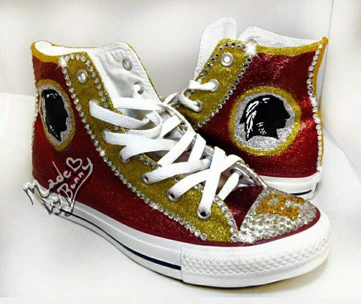 a9fce4a1 I want these | Redskins | Converse sneakers, Converse design ...