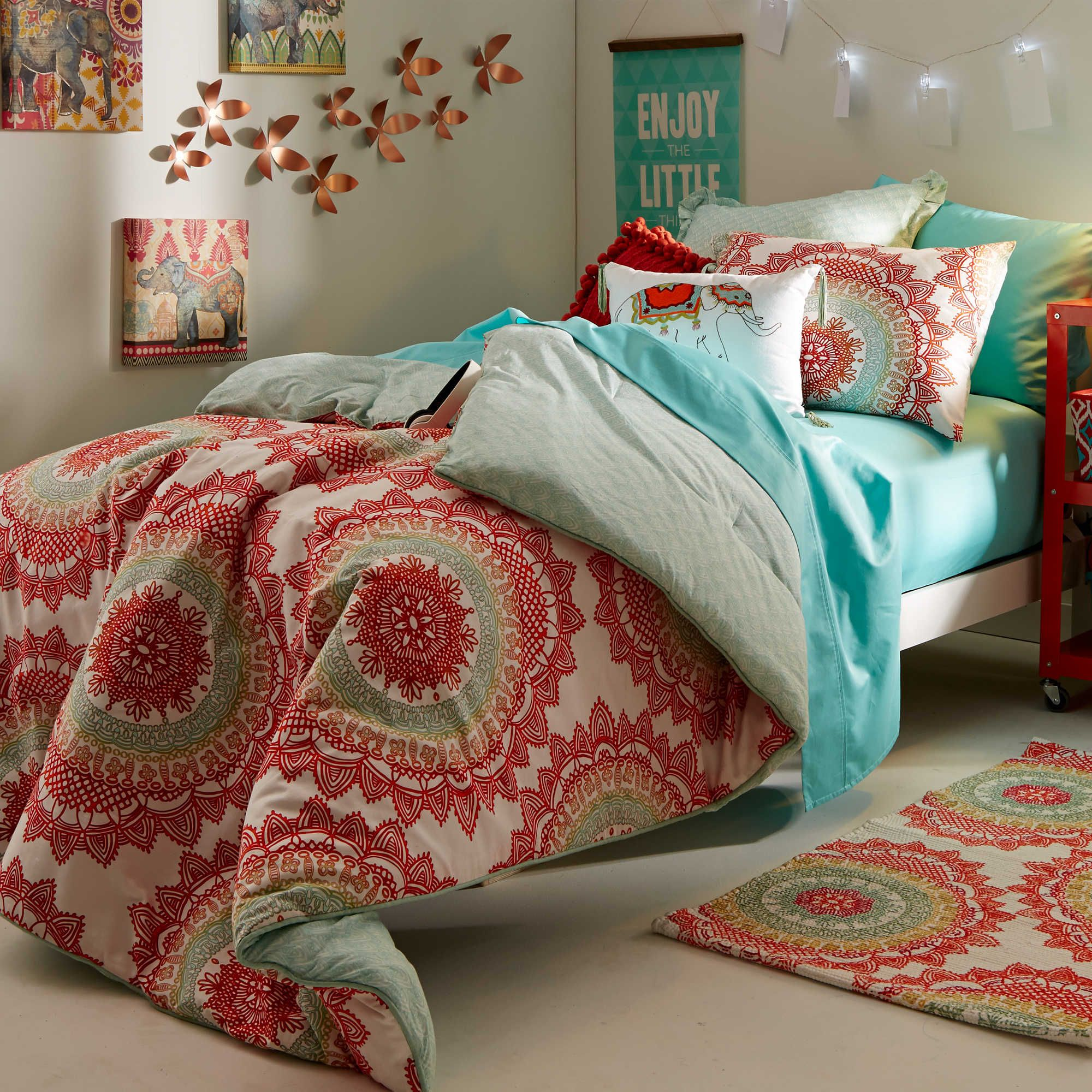 Bold Free Spirited Anthology Bungalow Dorm Room Bedding Dorm