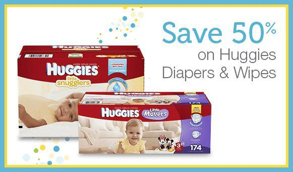 Amazon Mom Hot 50 Off Huggies Diapers Amp Wipes 3 Off