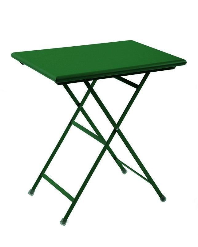 Le petit modèle de la table de jardin pliable Arc en Ciel ...