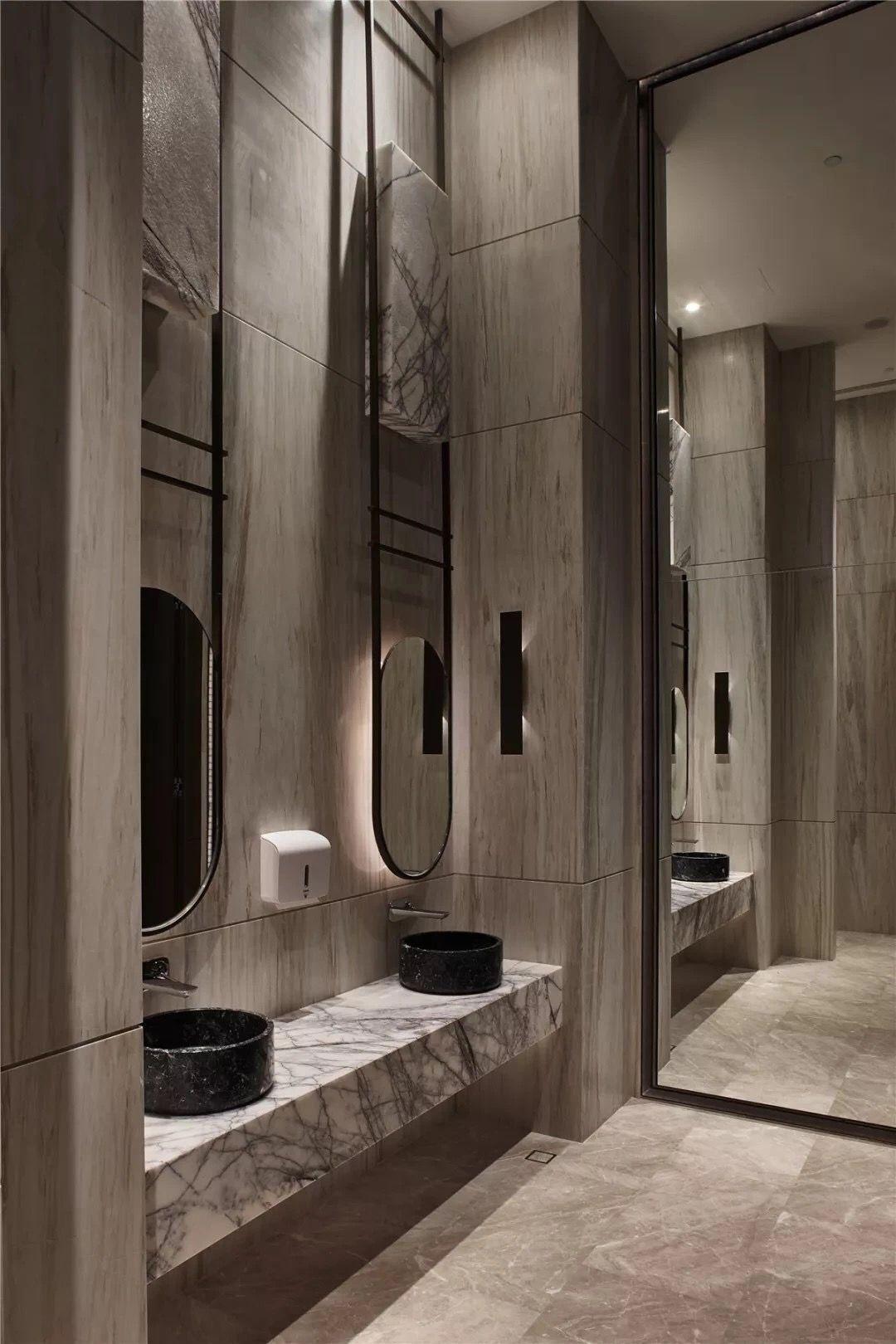 Pin By Corleone On A售樓処 Bathroom Interior Design Washroom Design Restroom Design