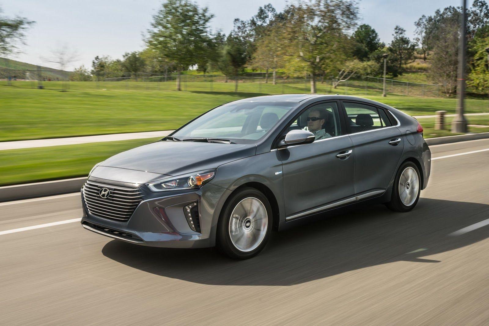 Hyundai Ioniq Comes In The Hybrid Phev And Ev Versions For North America 2017