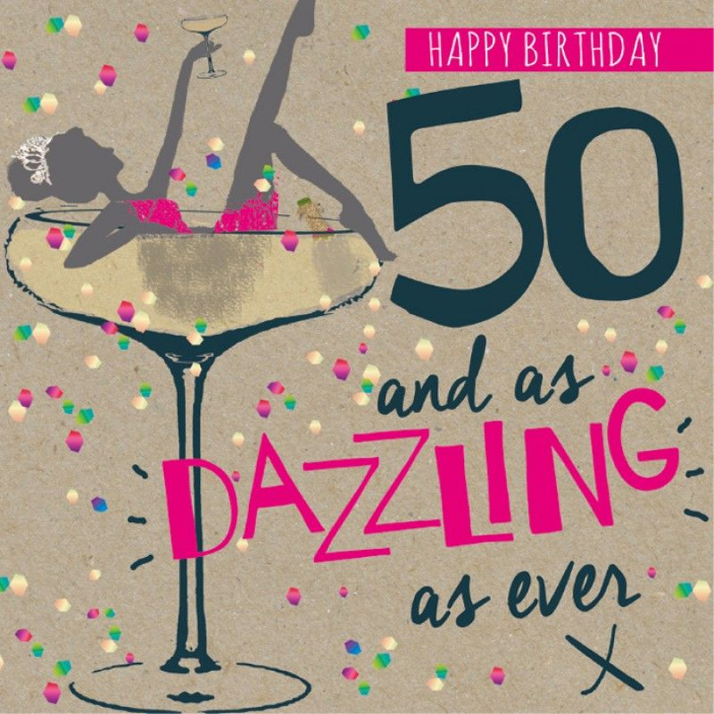 Funny 50th Birthday Wishes Quotes: Happy 50th Birthday