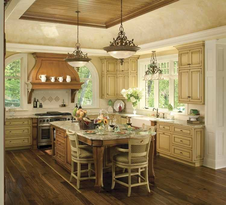 Country Kitchen Islands With Seating: Country Kitchen Designs, French Country