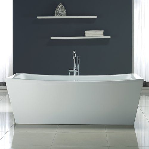 Terra 70 X 34 25 Freestanding Soaking Bathtub Bathroom Soaking