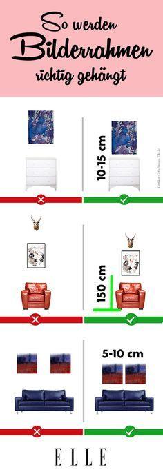 bilder aufh ngen so findest du die ideale h he bilderwand aufh ngen und mehrere. Black Bedroom Furniture Sets. Home Design Ideas