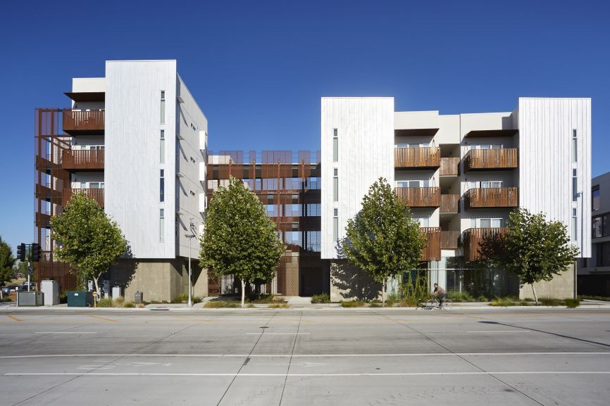 David Baker Architects Rivermark Exterior Stairs West Sacramento Architect