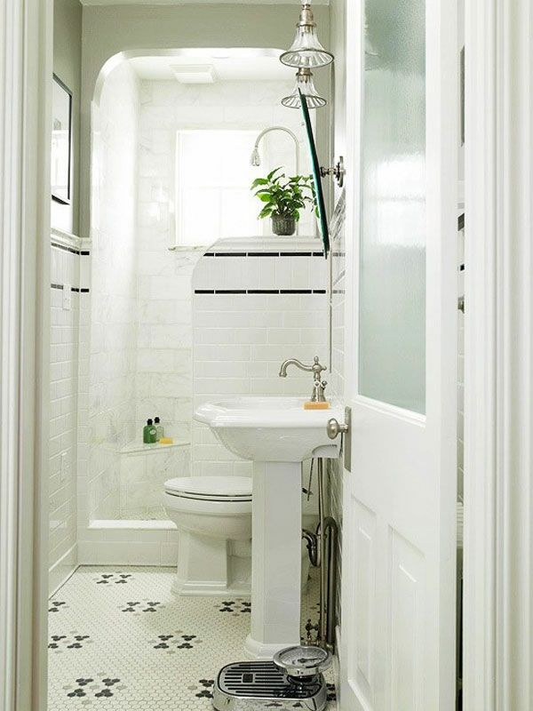Kleines bad einrichten badideen rustikal lampen for Badezimmer lampen ideen