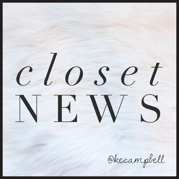 "Closet News Please use this listing to bookmark my closet and my be notified with any new items and sales. If you want to be notified with sales, please tag your closet and include the word ""sales"". If you want to be notified of new items, please tag your closet and include the word ""new items"". You can also say ""both"" and I will add you to both lists! All items come from a pet friendly, smoke free home. Please ask all questions up front. Other"