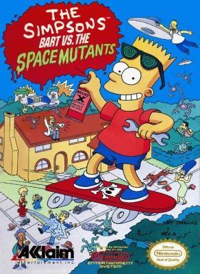 The Simpsons Bart vs. the Space Mutants [USA] Nintendo