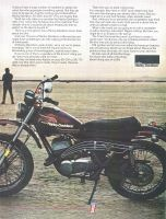 Harley Davidson Sx 250 Limited Edition 1975 Ad With Isdt Quick Detach Rear Hub Competition Type Front Fork Resettable In Either Direct Harley Davidson Harley Davidson Motorcycles Amf Harley