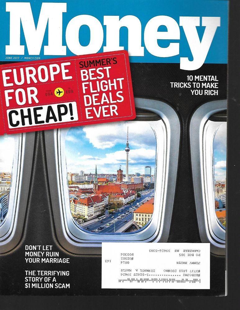 Money Magazine June. 2017 Back Issue Money magazine