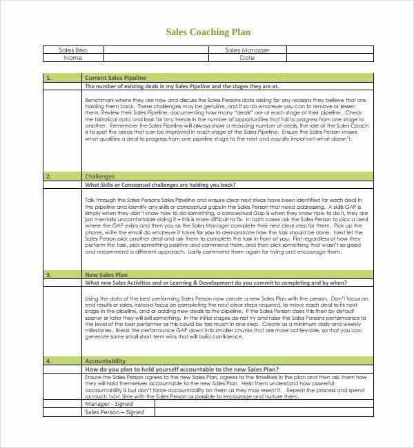 Employee Coaching Form Template In 2020 How To Plan Coaching