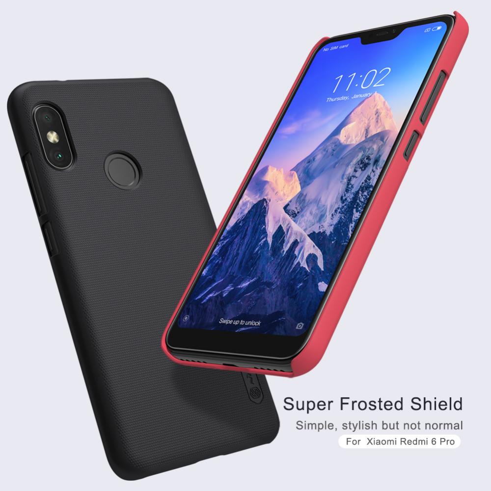 For Xiaomi Redmi 6 Pro Xiaomi Mi A2 Lite Case Cover Nillkin Pc Hard Case For Xiaomi Redmi 6 Pro Mi A2 Lite Fitted Cases 5 84 Case Cover Nillkin Xiaomi