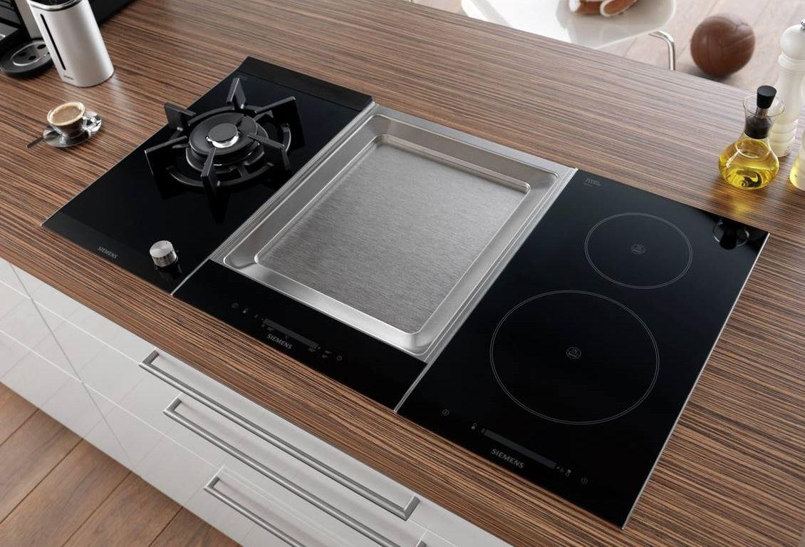stel je ideale kookplaat samen met siemens domino wokken. Black Bedroom Furniture Sets. Home Design Ideas