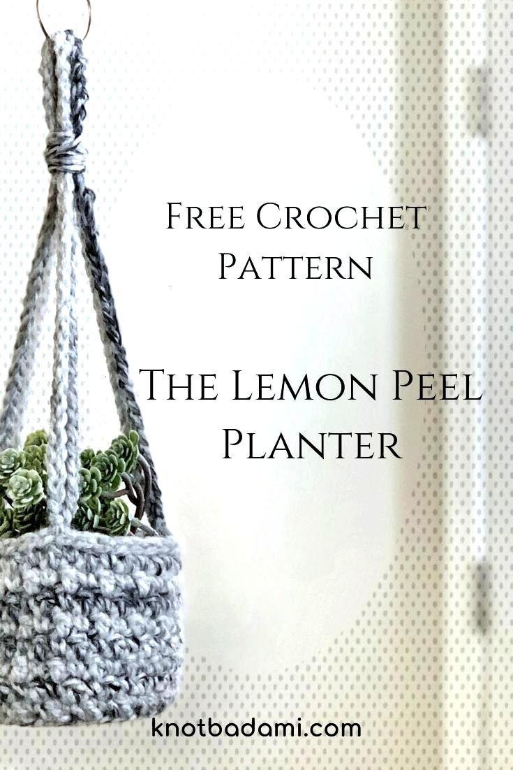 The Lemon Peel Planter - Knot Bad , The Lemon Peel Planter - Knot Bad ,