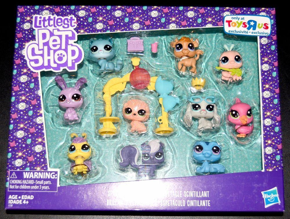 Littlest Pet Shop Brand New Sparkle Spectacular Toys R Us