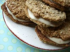 Amish Oatmeal Whoopie Pie Cookies from Food.com: These are even better than a Little Debbie oatmeal cookie