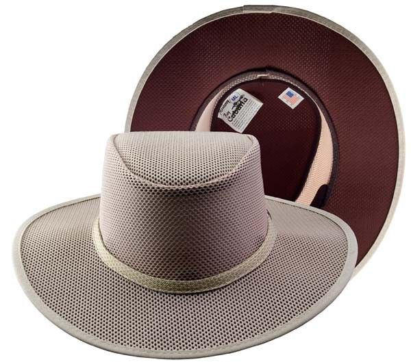 fbd8ea18 Head N' Home Handmade Hats Solair Brand Cabana Latte All Mesh Hat. The Latte