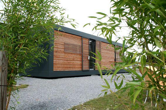 neues wohnen im cubig designhaus minihaus h user pinterest haus haus bauen und haus. Black Bedroom Furniture Sets. Home Design Ideas