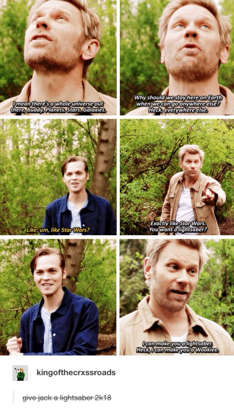 """Give Jack a lightsaber 2k18 