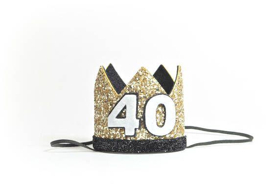40th Birthday Crown