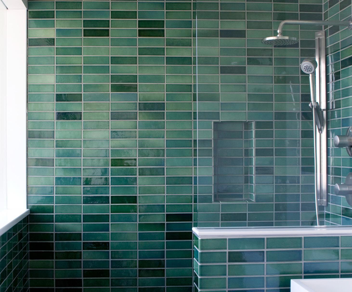 Installation Inspiration - Heath Ceramics - I like the stacked ...