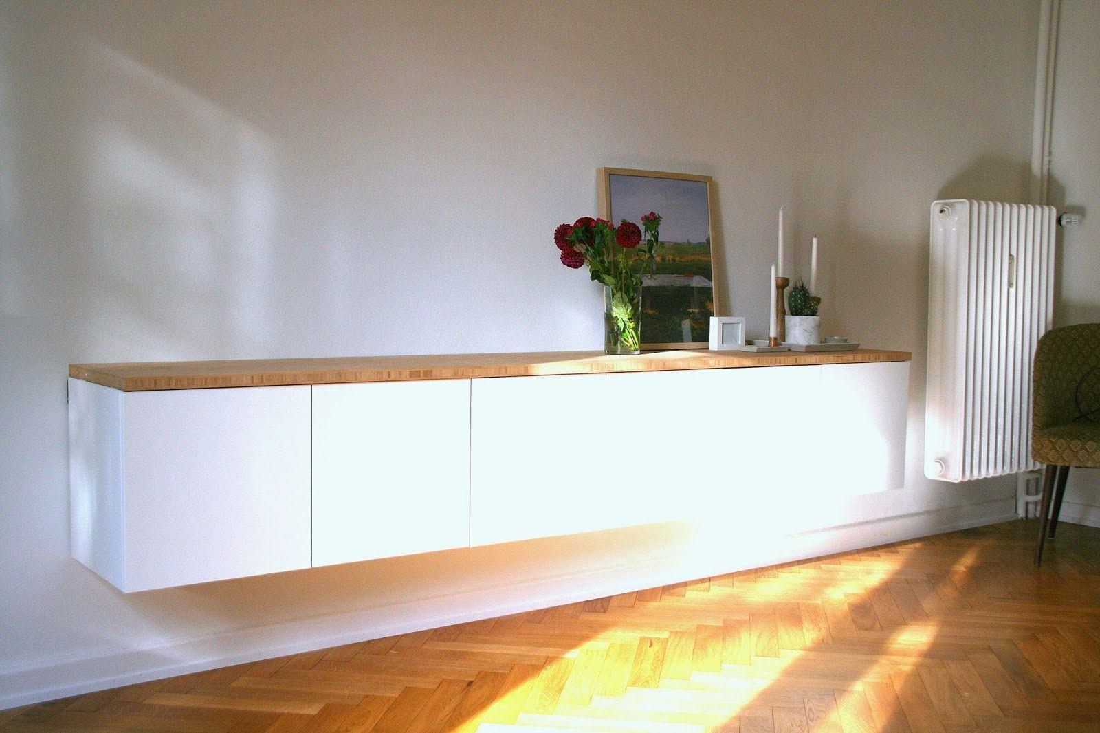 Lowboard hängend ikea  Geniale Idee aus Ikea-Möbeln | KECKE | Pinterest | Ikea möbel ...