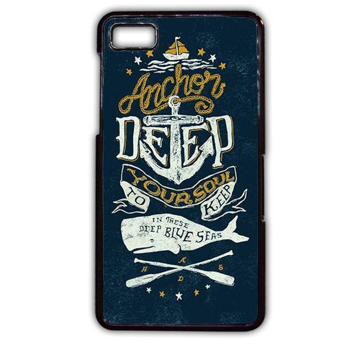Anchor Deep TATUM-746 Blackberry Phonecase Cover For