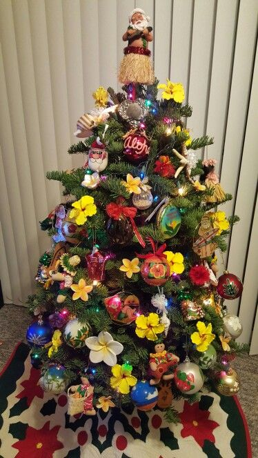 my little hawaiian christmas tree
